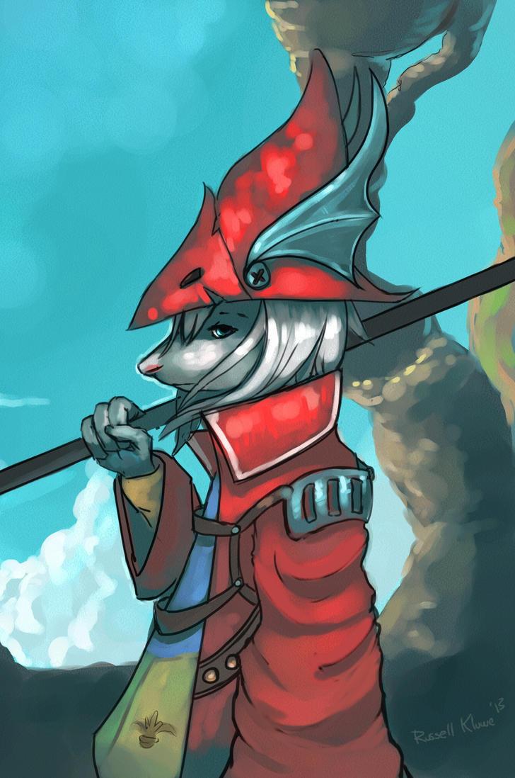 Freya Final Fantasy Official Art