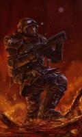 Cadian Veteran Sergeant Banes