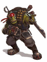 Blood Axes Ork Kommando by warhammer40kcampaign
