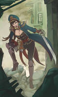 Commissar woman