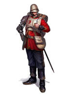 Praetorian Imperial Guard captain by warhammer40kcampaign