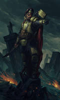 Harakoni Warhawks Commander by warhammer40kcampaign