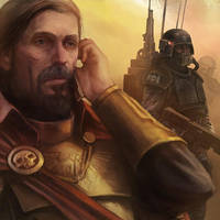 Commander Alexander Menx 122nd cadian by warhammer40kcampaign