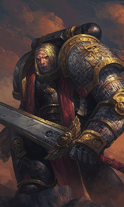 Deathwatch Captain by warhammer40kcampaign