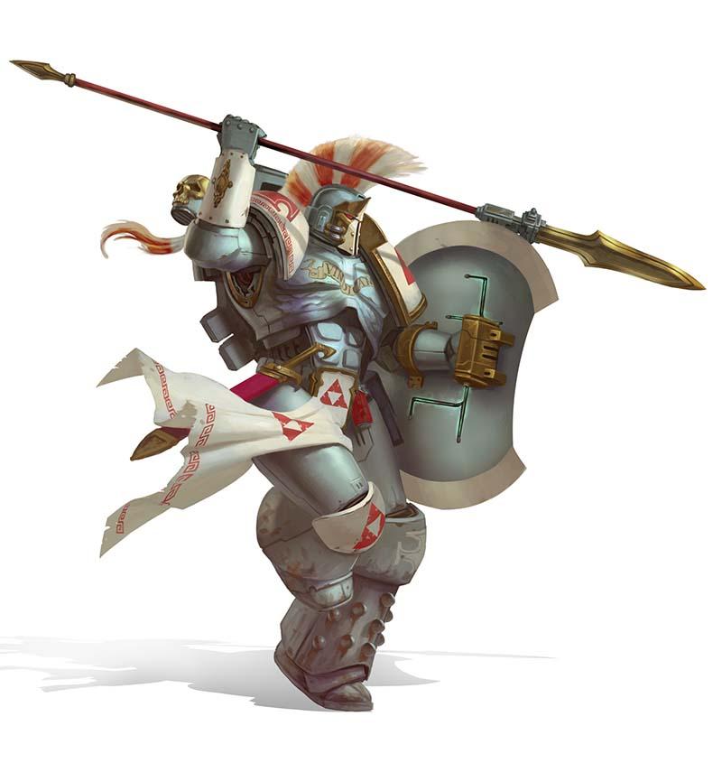 Angels Vindicant Veteran Space Marines by warhammer40kcampaign