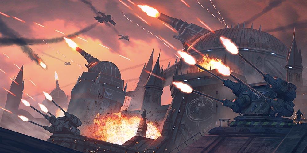Astra Militarum Planetary Defense by warhammer40kcampaign