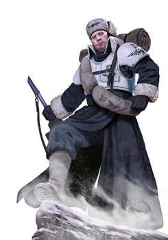Valhallan ice warrior Imperial Guard
