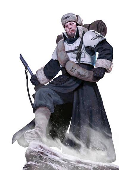 Valhallan ice warrior Imperial Guard by warhammer40kcampaign