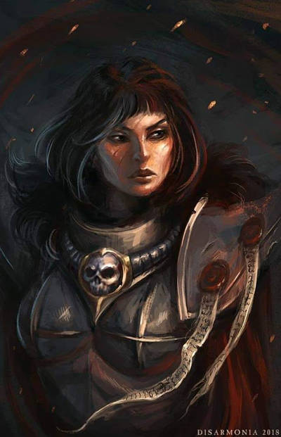 Sister of Battle Sacred Rose Canoness by warhammer40kcampaign