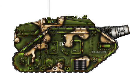 Thunderer Siege Tank by warhammer40kcampaign