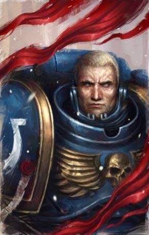 Ultramarines Lieutenant Calsius by warhammer40kcampaign