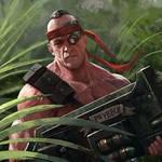 Sergeant Harker 2nd Catachan jungle fighter
