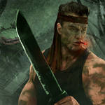 Sly Marbo 2nd Catachan jungle fighter