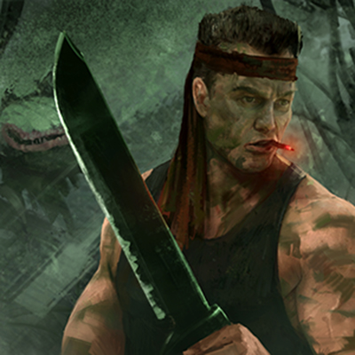 Sly Marbo 2nd Catachan jungle fighter by warhammer40kcampaign