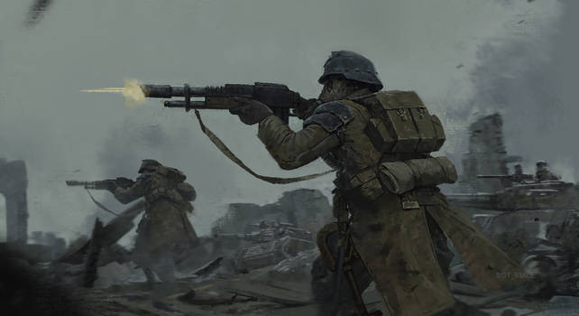 Death Korps of Krieg Infantry