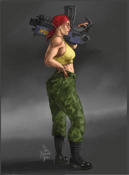 Catachan Girl