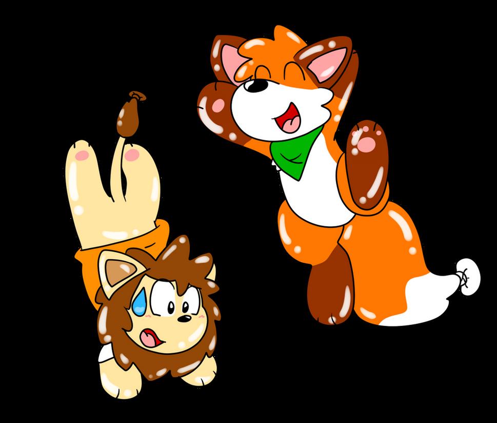 Balloon Fun by loofytehfox