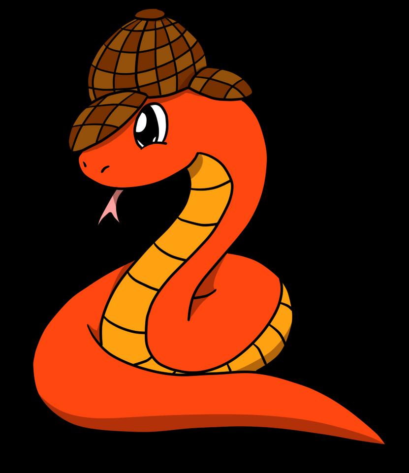 Detective Snake by loofytehfox