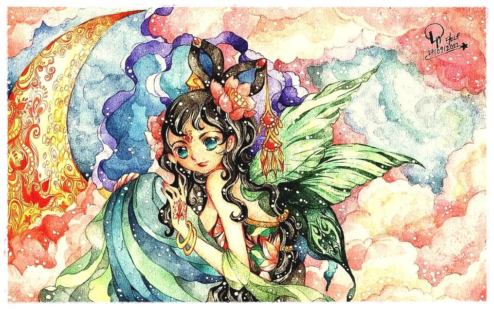 moon fairy by Lovepeace-S