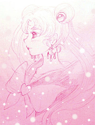 sketch:Sailormoon by Lovepeace-S