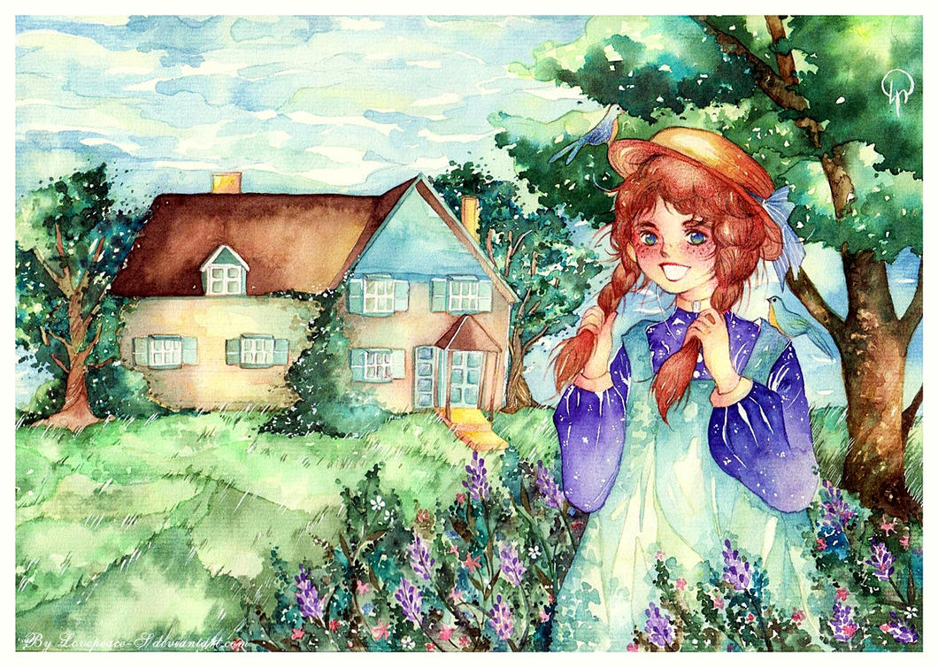 Anne at Green Gables by Lovepeace-S
