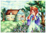 Anne at Green Gables