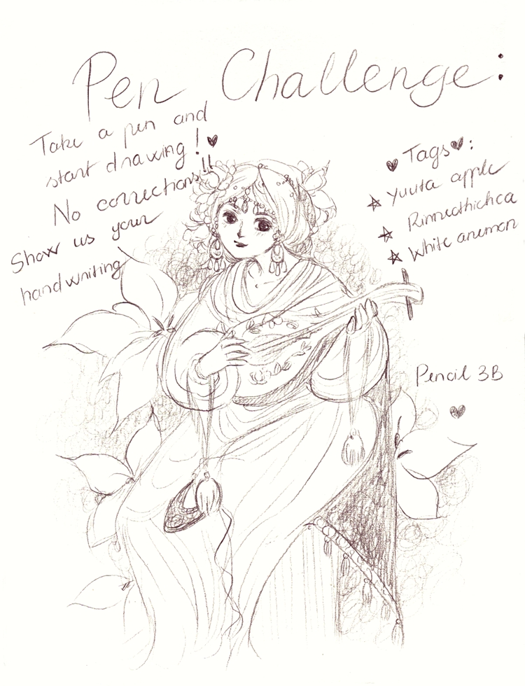 Pen Challenge by Lovepeace-S