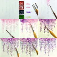 fujitaka flower tips color by Lovepeace-S