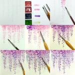 fujitaka flower tips color