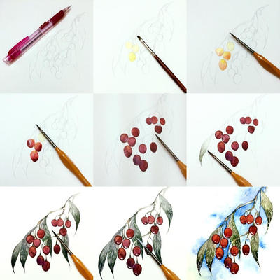 tips to color fruit 1 by Lovepeace-S