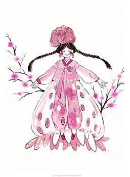 Strawberry Hanbok