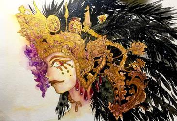 black bird by Lovepeace-S