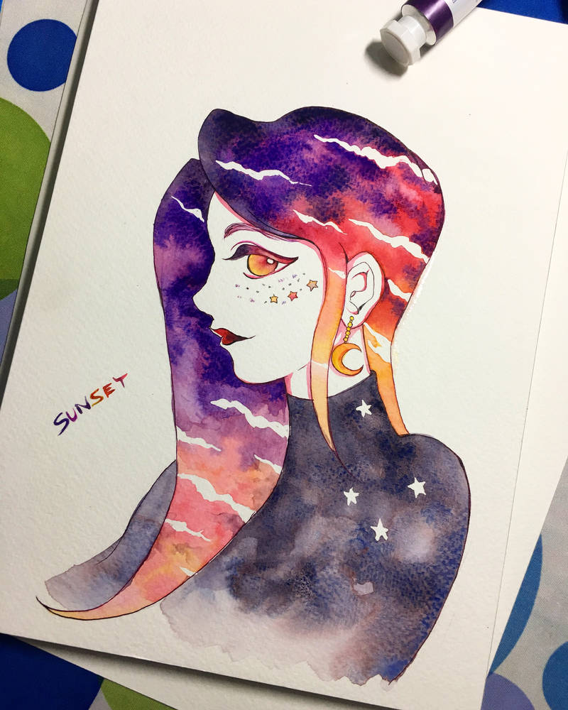 sunset by Lovepeace-S