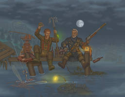 Fallout4:Far Harbor vacation by a20t43c