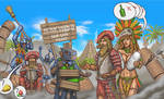 Conquest of new world: golden cities and amazons 2