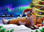 Christmas fox (2016)