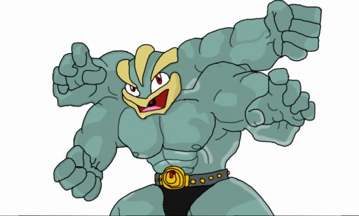 Machamp by brawl9977