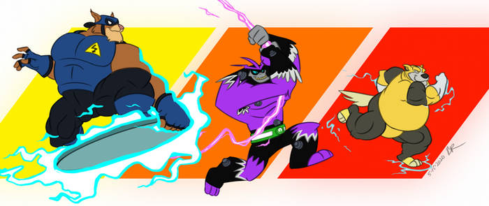 Excited Electric Heroes
