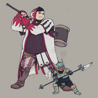 White Mage and the Dragoon SWAP