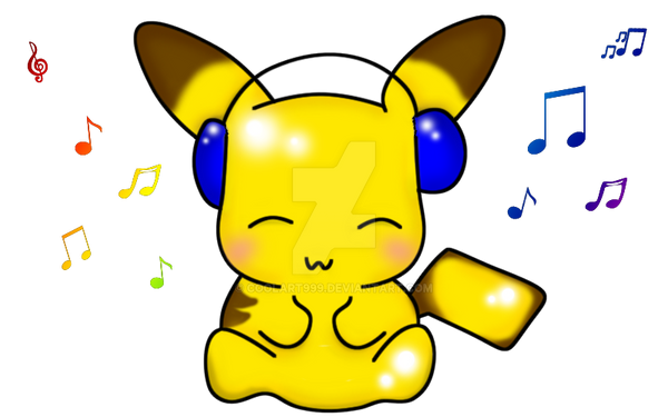 Chibi Pikachu By CoolArt999