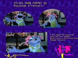Zylvia Hand Puppet.