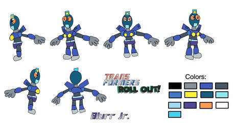 BLURRJR-Model sheet by Acrobatdog
