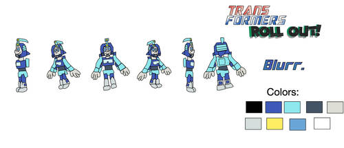 BLURR-Model sheet1 by Acrobatdog