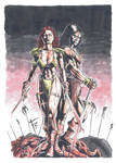 Red Sonja and Conan