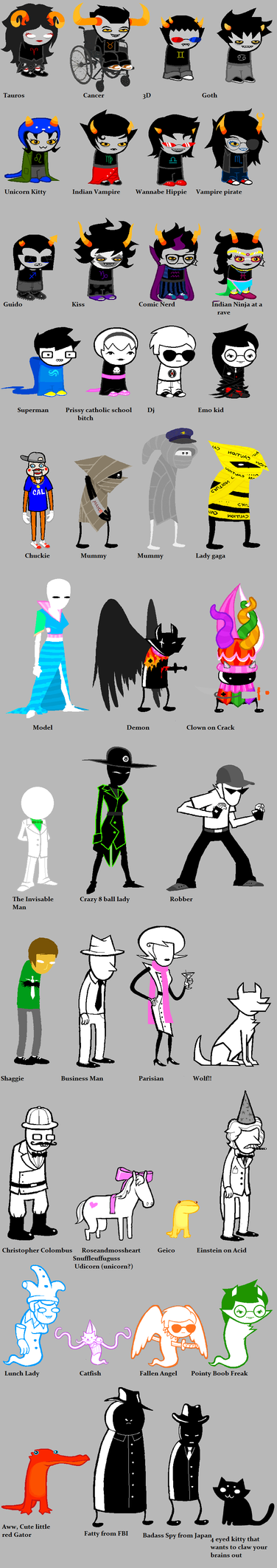 Homestuck according to Paigey by Fennecat