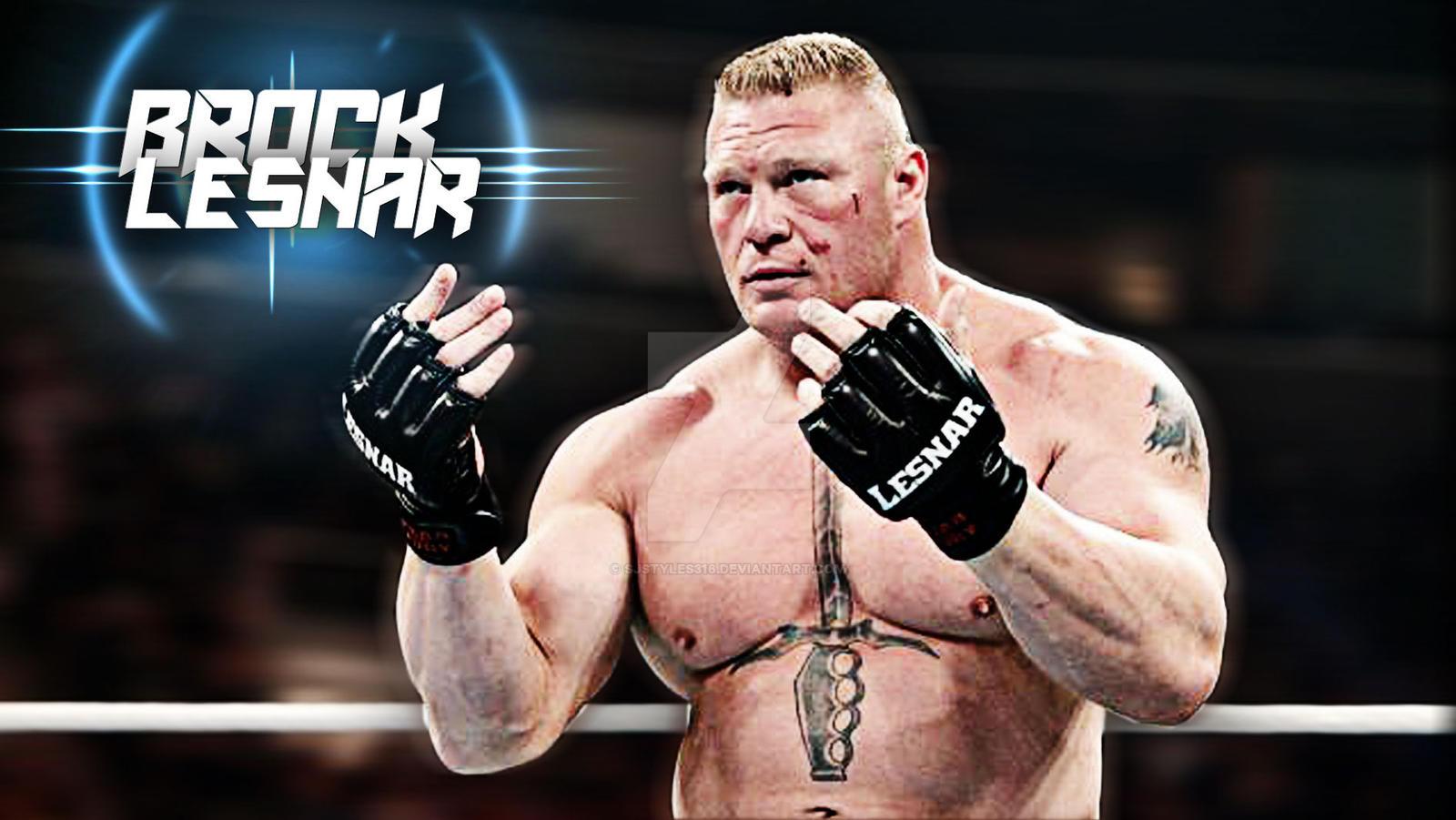 Brock Lesnar Wallpaper By Sj Sjstyles316