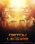 Brock Lesnar Vs Randy Orton Poster