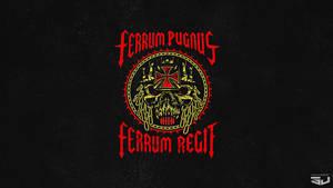 ferrum pugnus ferrum regit Desktop background