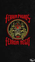 ferrum pugnus ferrum regit Mobile wallpaper