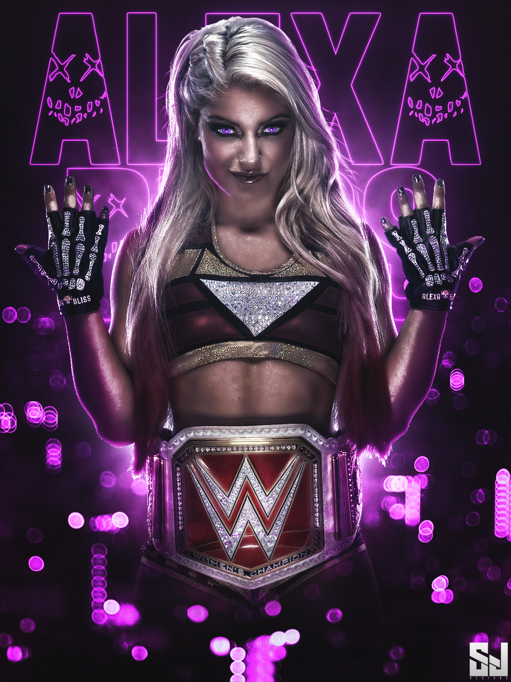 Alexa Bliss- New Raw Women's Champion by Sjstyles316 on ...